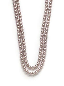 Majorica - 8MM Nuage Round Pearl Strand Necklace