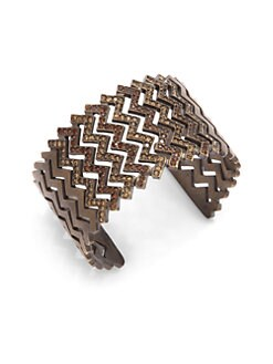 joanna laura constantine - Pave Zig-Zag Cuff