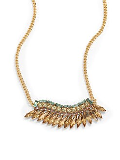 joanna laura constantine - Jeweled Single Wing Necklace