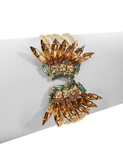 joanna laura constantine - Jeweled Wing Bracelet