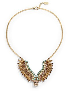 joanna laura constantine - Jeweled Wing Necklace
