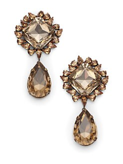joanna laura constantine - Jeweled Tear Drop Earrings