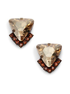 joanna laura constantine - Jeweled Triangle Stud Earrings