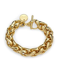 1AR by UNOAERRE - Bold, Braided Chain Bracelet