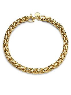 1AR by UNOAERRE - Bold, Braided Chain Necklace