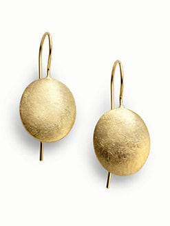 Rena Luxx - Textured Oval Earrings