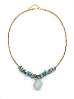 Leslie Danzis - Beaded Pendant Necklace