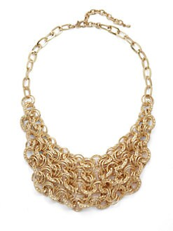 Leslie Danzis - Multi-Chain Bib Necklace