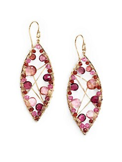 NuNu - Marquis Mixed Earrings/Rose