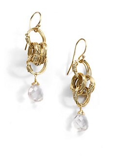 NuNu - Multi-Ring Teardrop Earrings