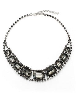 ABS - Jeweled Rhinestone Necklace