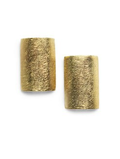 Rena Luxx - Rectangle Shield Earrings