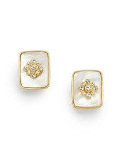 Carolee Lux - Faux Mother of Pearl Earrings