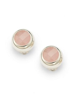 Carolee Lux - Faceted Stone Clip-On Earrings