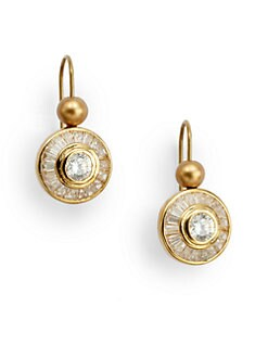 Carolee Lux - Circle Drop Earrings
