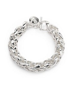 1AR by UNOAERRE - Herringbone Link Bracelet