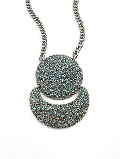 Clara Kasavina - Fiona Drop Crescent Necklace