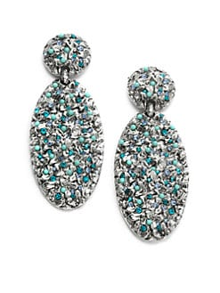 Clara Kasavina - Yana Textured Oval Drop Earrings