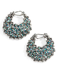 Clara Kasavina - Fiona Crescent Earrings