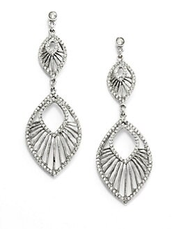 Clara Kasavina - Swarovski Crystal Deco Earrings