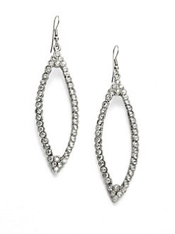 Clara Kasavina - Toby Swarovski Crystal Marquis Earrings