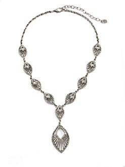 Clara Kasavina - Swarovski Crystal Deco Necklace