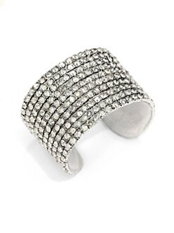 Clara Kasavina - Kate Swarovski Crystal Cuff Bracelet