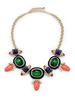 Kenneth Jay Lane - Deco Bib Necklace