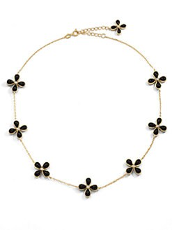 Belargo - Black Onyx Four-Point Station Necklace