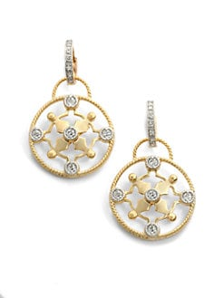 Belargo - Signature Icon Convertible Drop Earrings