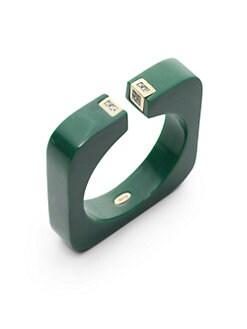 Isharya - Square Resin Bangle