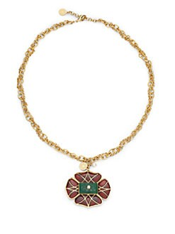 Isharya - Vintage-Inspired Rani Flower Necklace