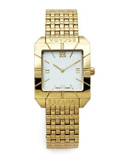 Escada - Meagan Goldtone Stainless Steel Watch