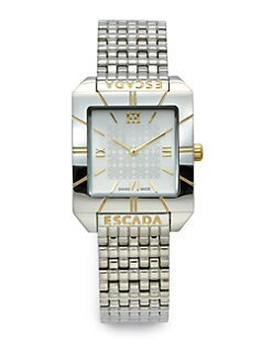 Escada - Meagan Stainless Steel & Goldtone Watch