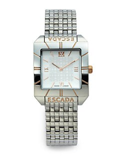 Escada - Meagan Stainless Steel & Rose Goldtone Watch