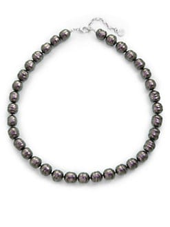 Majorica - 12MM Tahitian Baroque Pearl Necklace