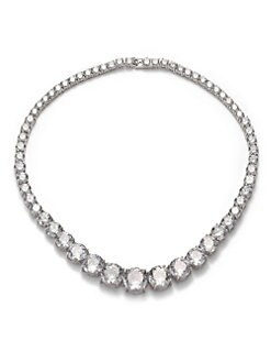 CZ by Kenneth Jay Lane - Brilliant-Cut Riviere Necklace