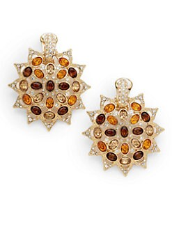 Kenneth Jay Lane - Starburst Earrings