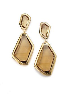 Kenneth Jay Lane - Shadow Drop Earrings