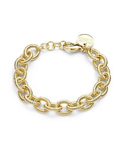 1AR by UNOAERRE - Ribbed Oval Chain Bracelet