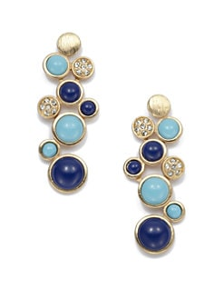 Kenneth Jay Lane - Circular Drop Earrings