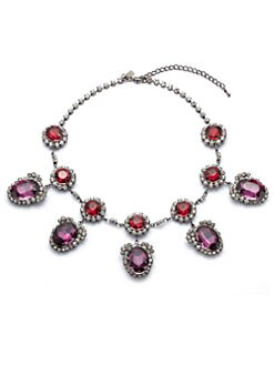 Kenneth Jay Lane - Faceted Drop Necklace