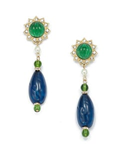 Kenneth Jay Lane - Star Burst Drop Earrings