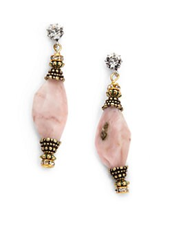 TOVA - Peruvian Opal Drop Earrings