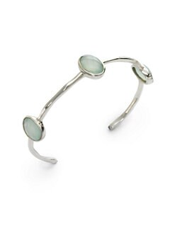 NuNu - Triple Jewel Cuff/Aqua