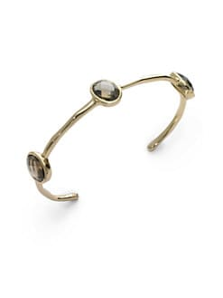 NuNu - Triple Jewel Cuff/Smoke