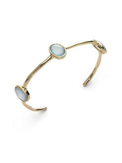 NuNu - Triple Jewel Cuff/Blue
