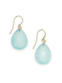 NuNu - Teardrop Earrings/Aqua