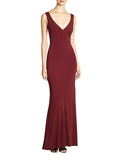 ABS - V-Back Gown