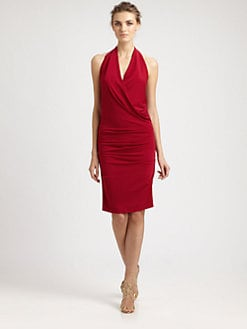 Nicole Miller - Matte Jersey Halter Dress
